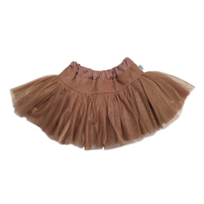Gold Tulle Skirt