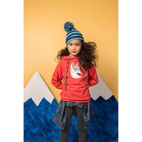 Fire Fox Hooded Sweatshirt