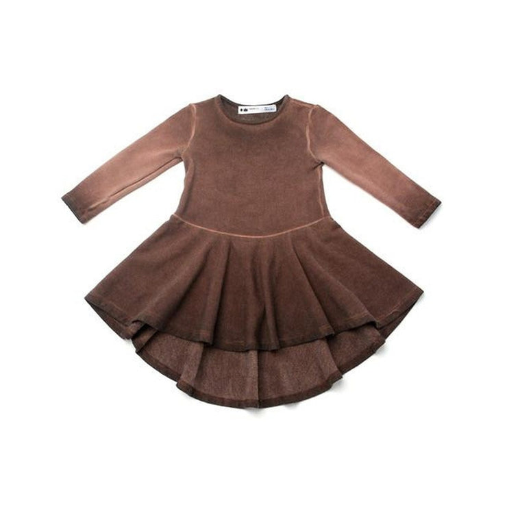 Vintage Chocolate Ombre Dress