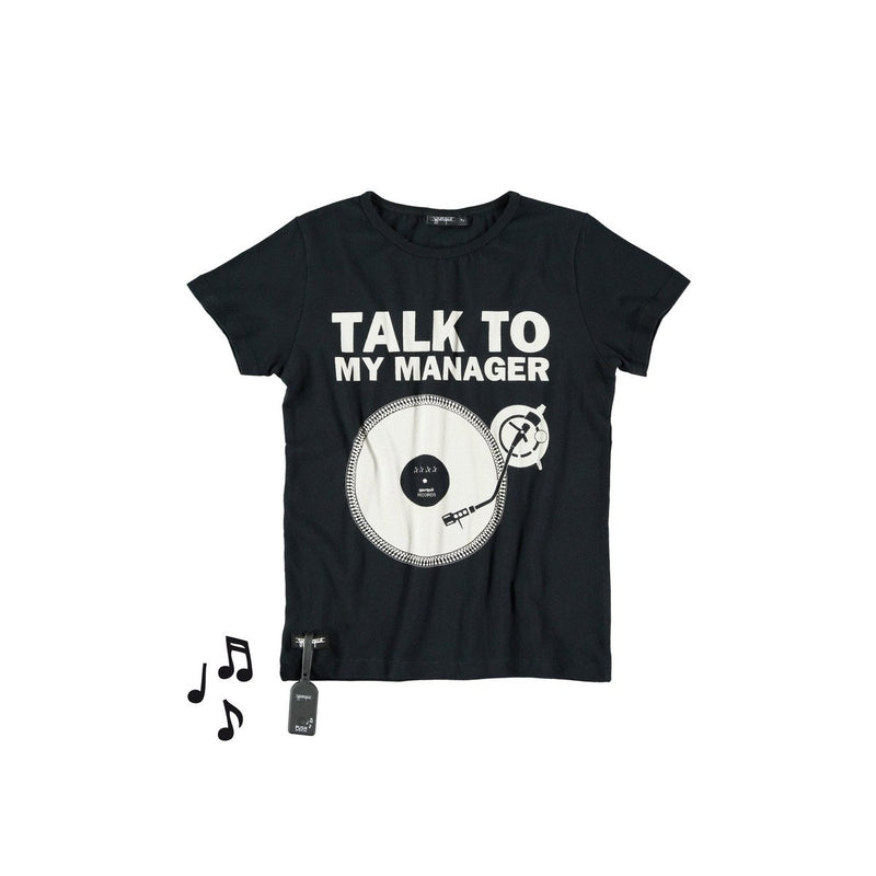 Black Talk to Tee