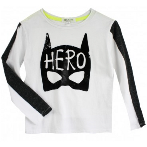 White Bruce Hero Sweater