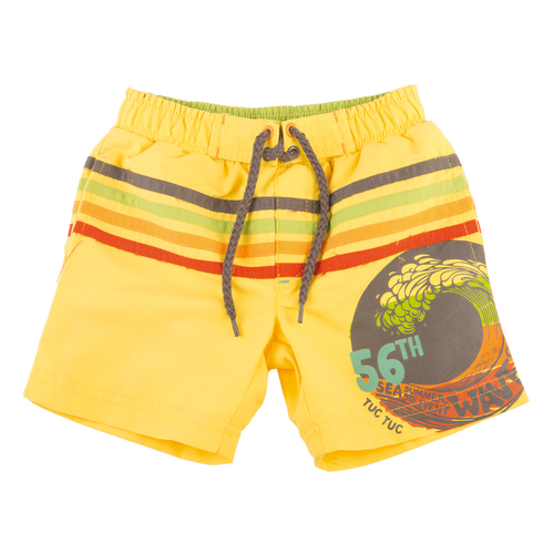 Yellow Swim trunk
