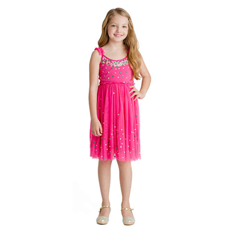 Hot Pink Magic Garden Dress