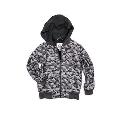 Grey Camo Mayfield Bomber