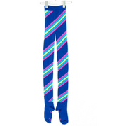 Multicolored Candy Striped Tights