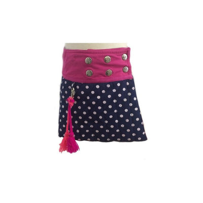 Polkadot Reversible Skirt