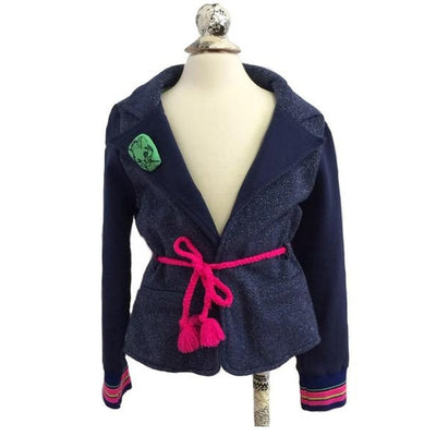 Sparkle Navy Jacket