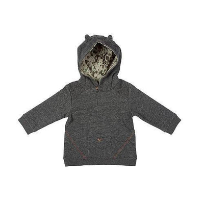 Wolf Ear French Terry Hoodie