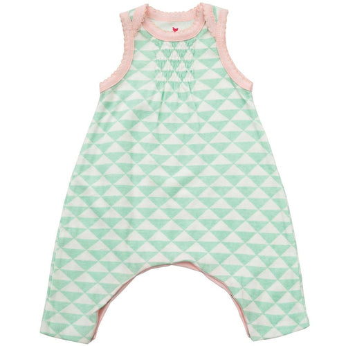 reese romper honeydew triangle