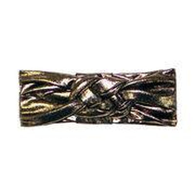 Sailor Knot Turban In Metallic Gold