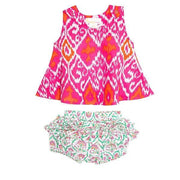 Maliku Ikat Pink 2pc Set