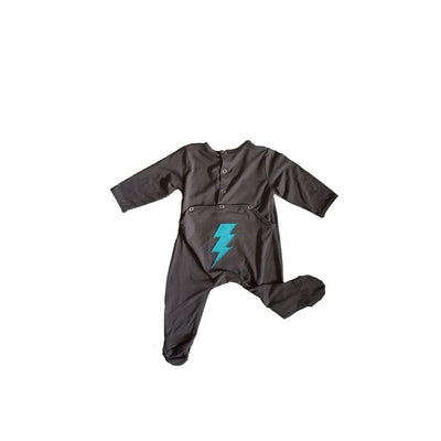 Backflap Grey Thunder Footie