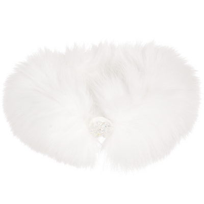White Fur Collar