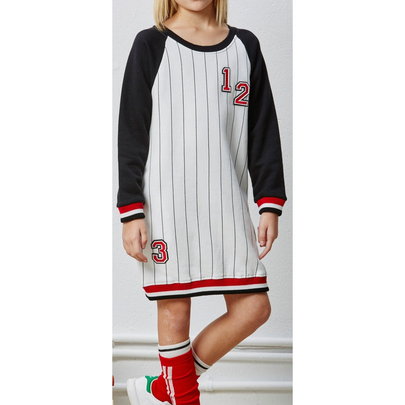 Pinstriped College Dress