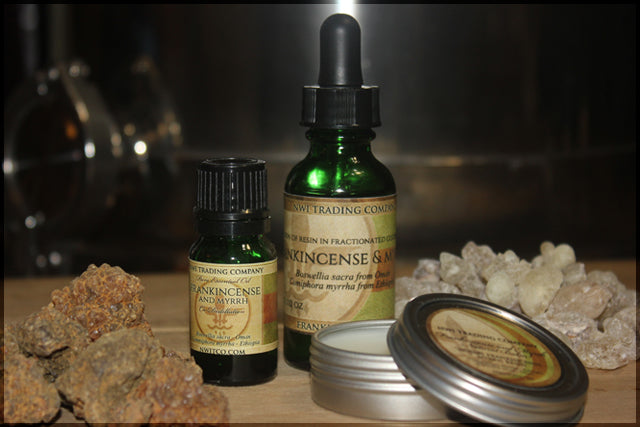 Frankincense and Myrrh Set