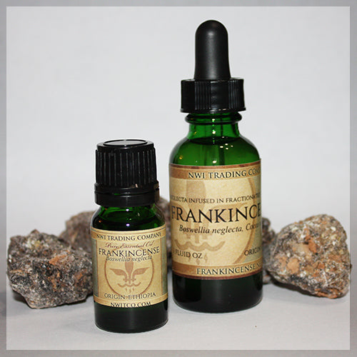 Frankincense Essential Oil and Frankincense Infusion, Boswellia Neglecta