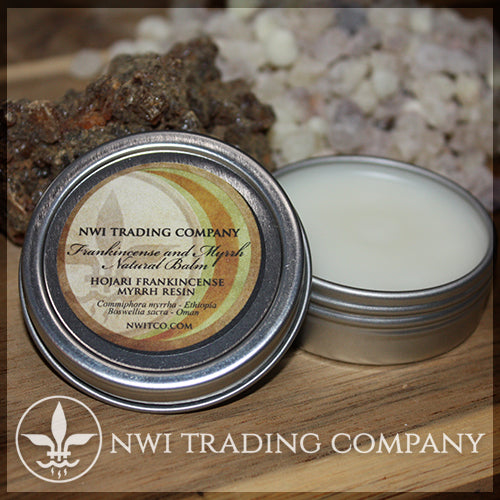 Frankincense and Myrrh Balm - Made from Hojari Frankincense and Ethiopian Myrrh
