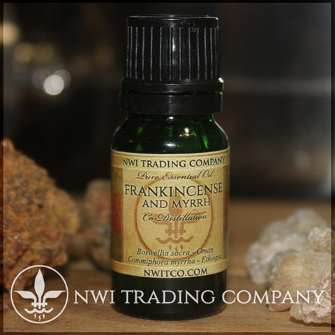 Frankincense And Myrrh Co-Distilled Essential Oil