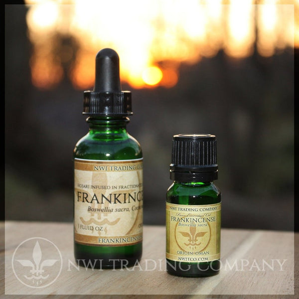 Boswellia Sacra Essential Oil And Frankincense Infused Carrier Oil
