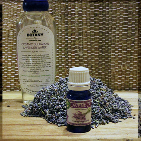 Lavender Package - Lavender Water, Lavender Essential Oil, and Lavender Buds
