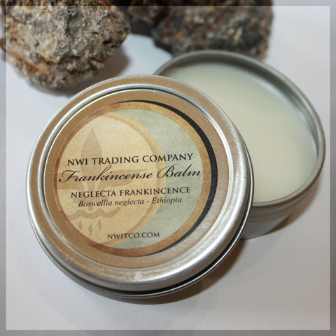 Frankincense Balm made from Neglecta Frankincense, Boswellia neglecta