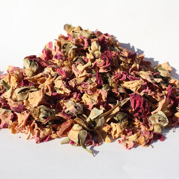 Rose Buds and Rose Petals
