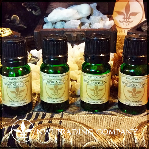 Frankincense Oil Collection