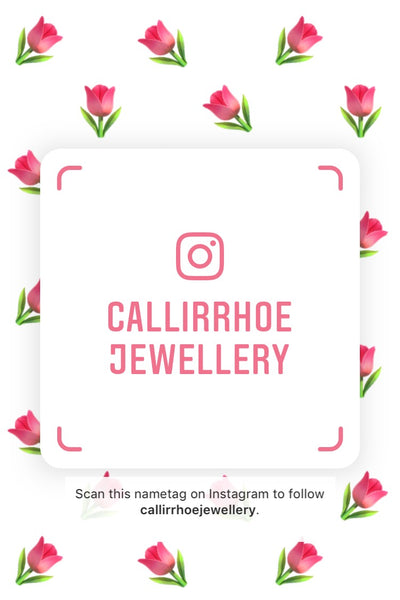 Callirrhoe Jewellery name tag