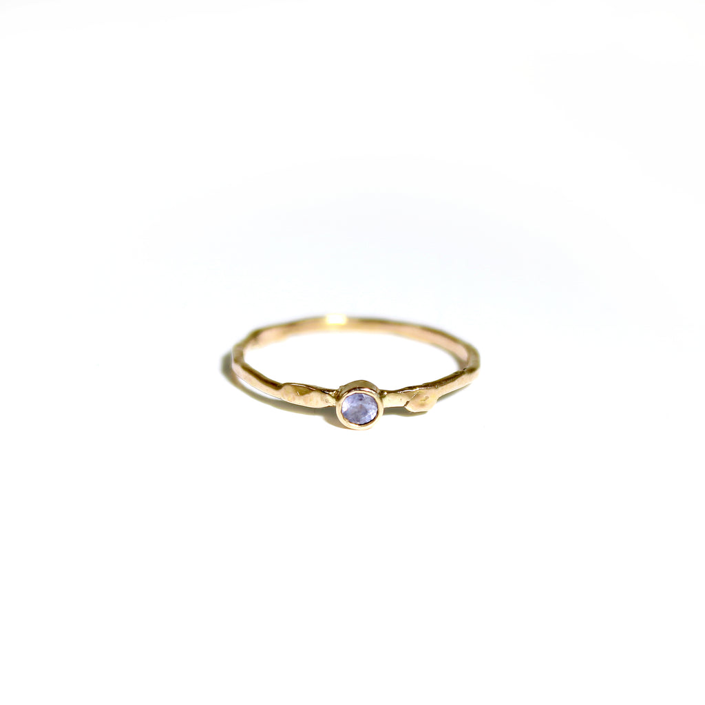 tiny gold ring