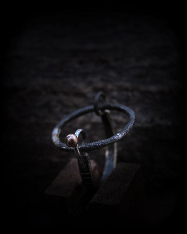 Asterix ring kinetic jewellery