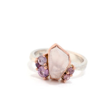 Heavenly Rose Cluster Ring