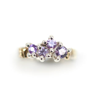 """Posie"" Cluster Ring"