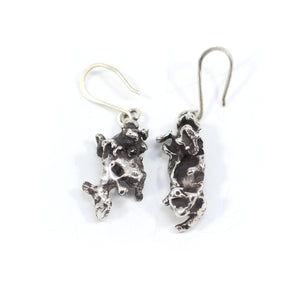 """Molten"" earrings"