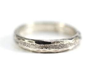 Forged rounded edge ring