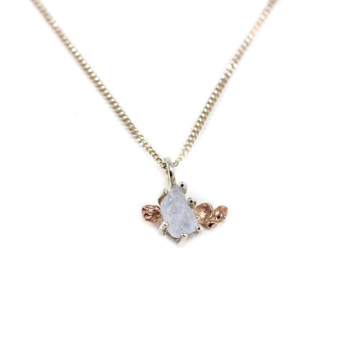 Sapphire Angel Necklace
