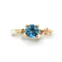 """Princess Ring"" London Topaz"