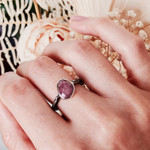 Violet Candy Ring