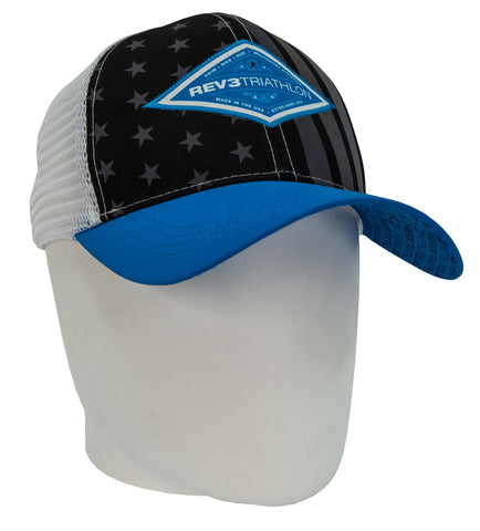 Rev3 Stars and Stripes Trucker Hat