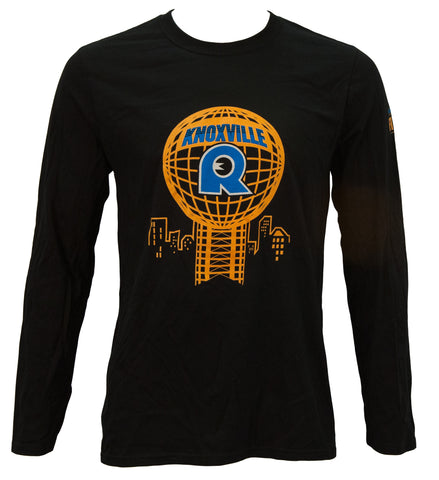 2013 Knoxville Black Long Sleeve Finisher T