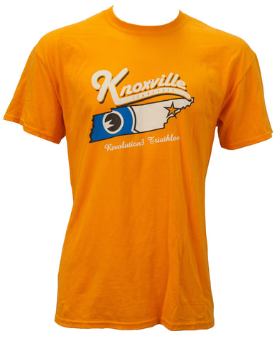 Knoxville Rev 3 Logo Orange Short Sleeve T
