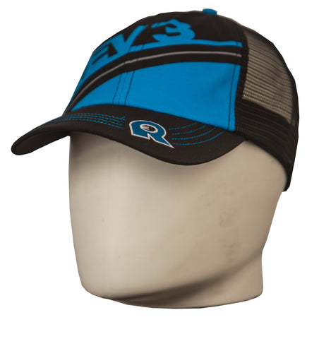 Rev3 Blue on Black Relaxed Fit Hat