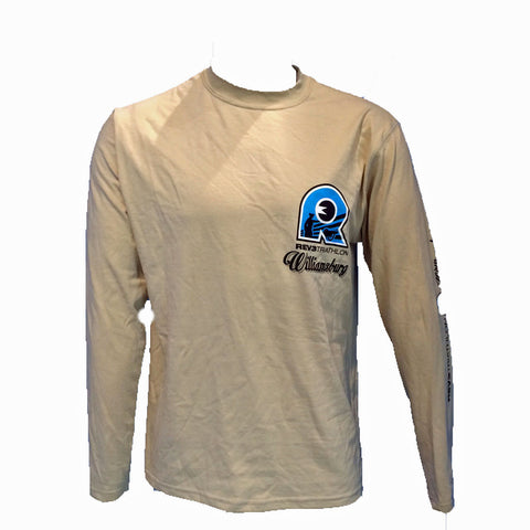 2014 Tan Long Sleeve Williamsburg Finisher T