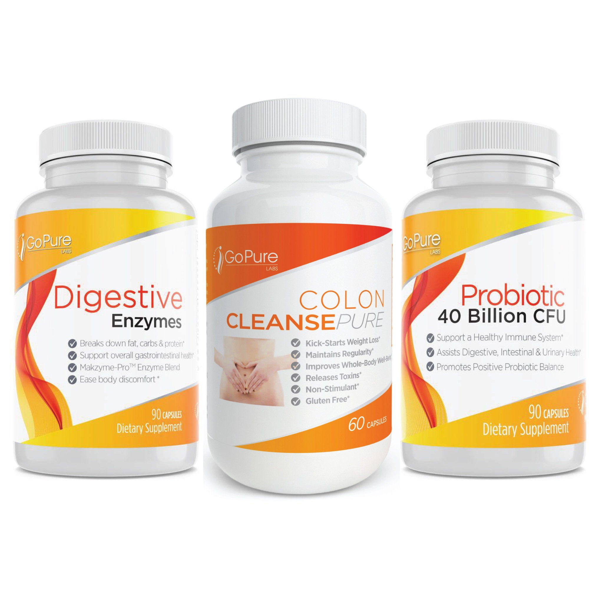 The Ultimate Good Belly Cleanse - Probiotic, Digestive Enzyme, Colon Cleanse