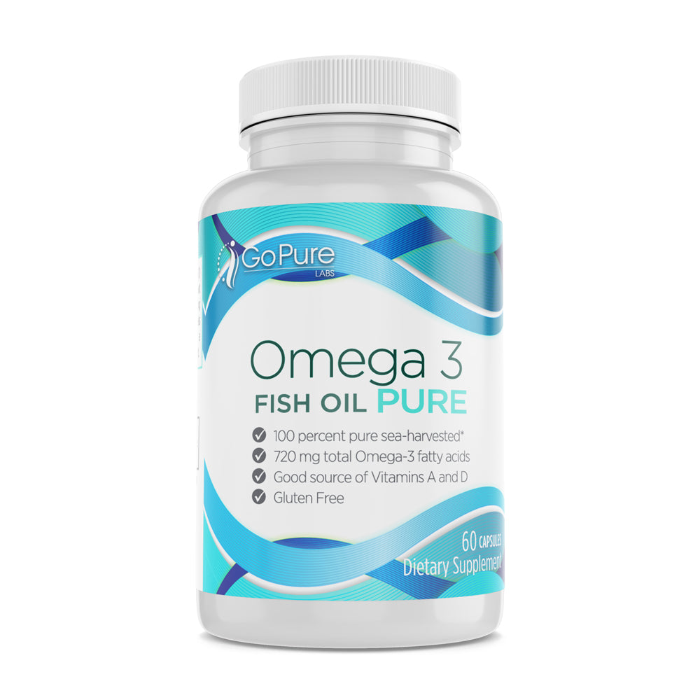 Omega 3 Fish Oil  Pure 60 Ct.