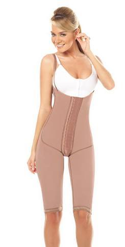 Post Op High Back Knee Length Girdle #11175