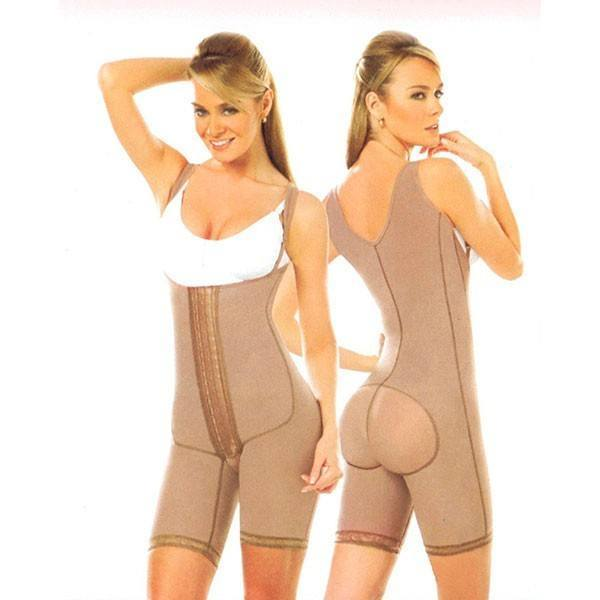 All Day Wear - Mid Body Girdle W/Removable Strap And Adjustable Hooks By Diseños D' Prada #11111