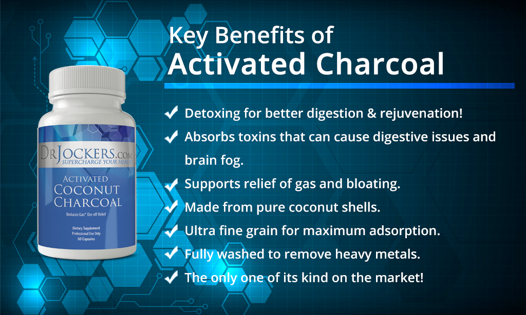 activated charcoal, 4 Reasons to Use Activated Charcoal