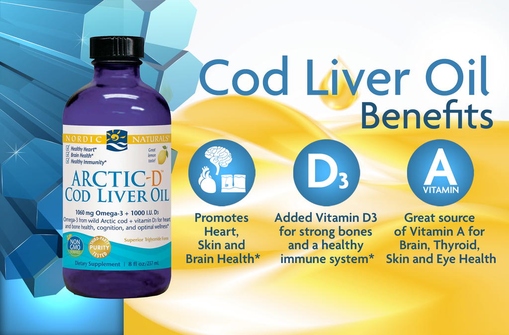 cod liver oil, 10 Benefits of Cod Liver Oil