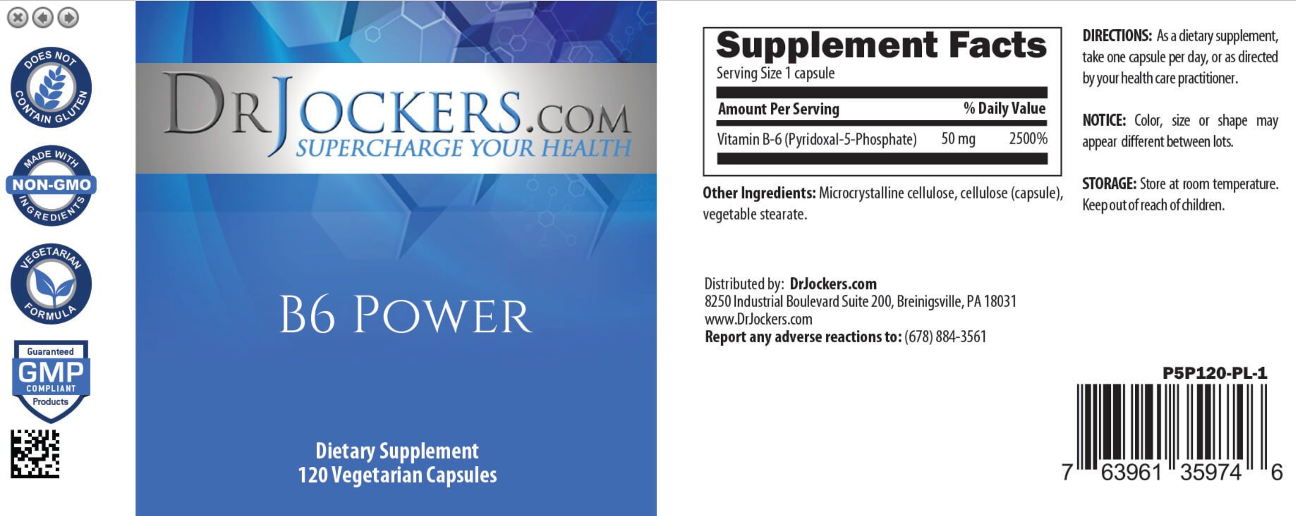 Pyroluria Support Pack – Dr  Jockers Store