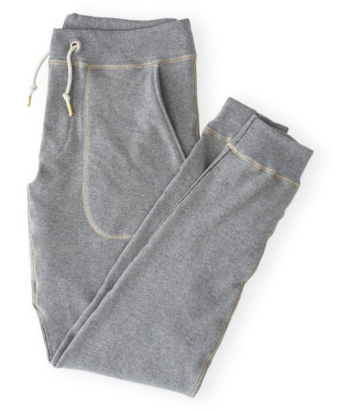 Men's Heather Grey Organic Jogger Sweatpants by Victor Athletics